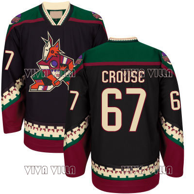 bf4a610f9 44 Kevin Connauton Hockey Jersey Men 48 Jordan Martinook 67 Lawson Crouse  77 DeAngelo McGinn Stitched Throwback Hockey Jerseys