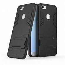3D Combo Armor Case for vivo V7 Plus V7Plus V7+ Y79 for vivo V7 for vivo Y69  Shockproof Phone Back cover Case Fundas Coque Etui  b99a2f69a08e