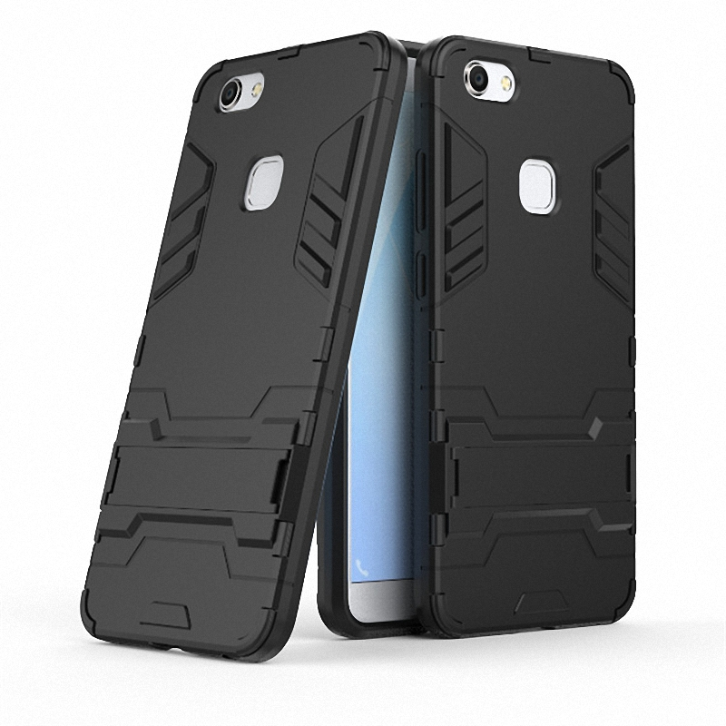 3D Combo Armor <font><b>Case</b></font> for <font><b>vivo</b></font> V7 Plus <font><b>V7Plus</b></font> V7+ Y79 for <font><b>vivo</b></font> V7 for <font><b>vivo</b></font> Y69 Shockproof Phone Back cover <font><b>Case</b></font> Fundas Coque Etui> image