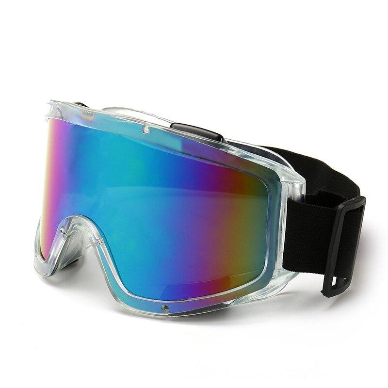 Ski Glasses Windproof UV400 Anti-fog Ski Goggles Anti-shock Snow Skiing Snowboard Motocross Goggles Unisex Masks Or Eyewear