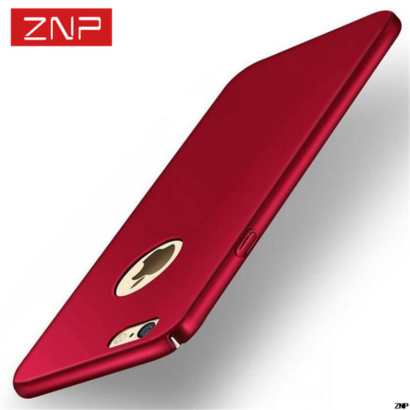 Fashion Luxury Slim Case For iphone 5S SE 6 6s Colorful Frosted Hard Scrub Back Cover Phone RED Cases For iphone 5 6S Capa Case