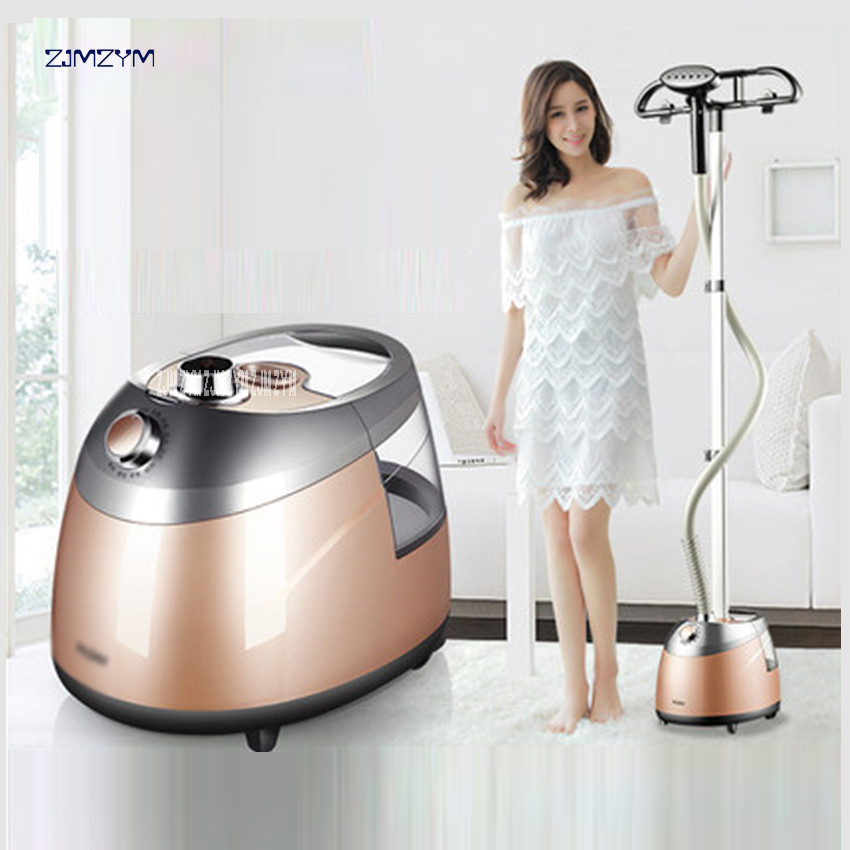 Household Garment Steamer Handheld clothes Electric iron wrinkle relaxing 2000W portable Steamer 10 gears iron steamer HGS-2510 tuv approved garment steamer ironing for all types of fabric wrinkle odor dust and germs free