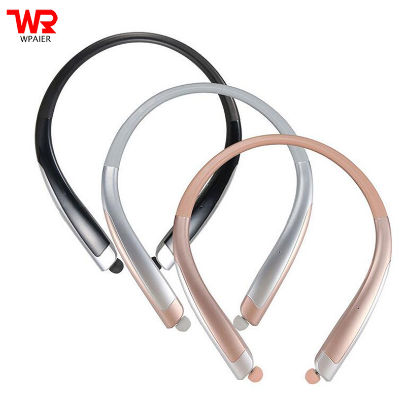 WPAIER HBS-1100 Wireless Bluetooth headphone Waterproof outdoor sport Bluetooth headset Neckband High-grade earphone HBS1100