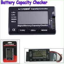 1pcs G.T.Power 2-7S Digital Battery Capacity Checker Controller Tester for LiPo Li-ion NiMH Nicd Voltage Balance View(China (Mainland))