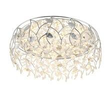 Modern LED Crystal Ceiling Lights Dining Living Room Bedroom Lights & Lighting Ceiling Lamps Cafe Kitchen Hanging Lamp Fixtures цены