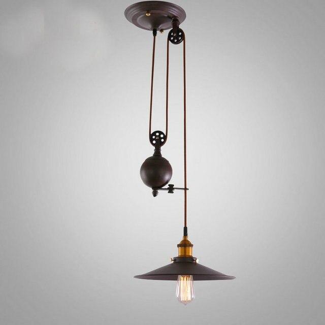New Keuken rise & fall Katrol Hanglampen katrol hanglamp retro #MF56