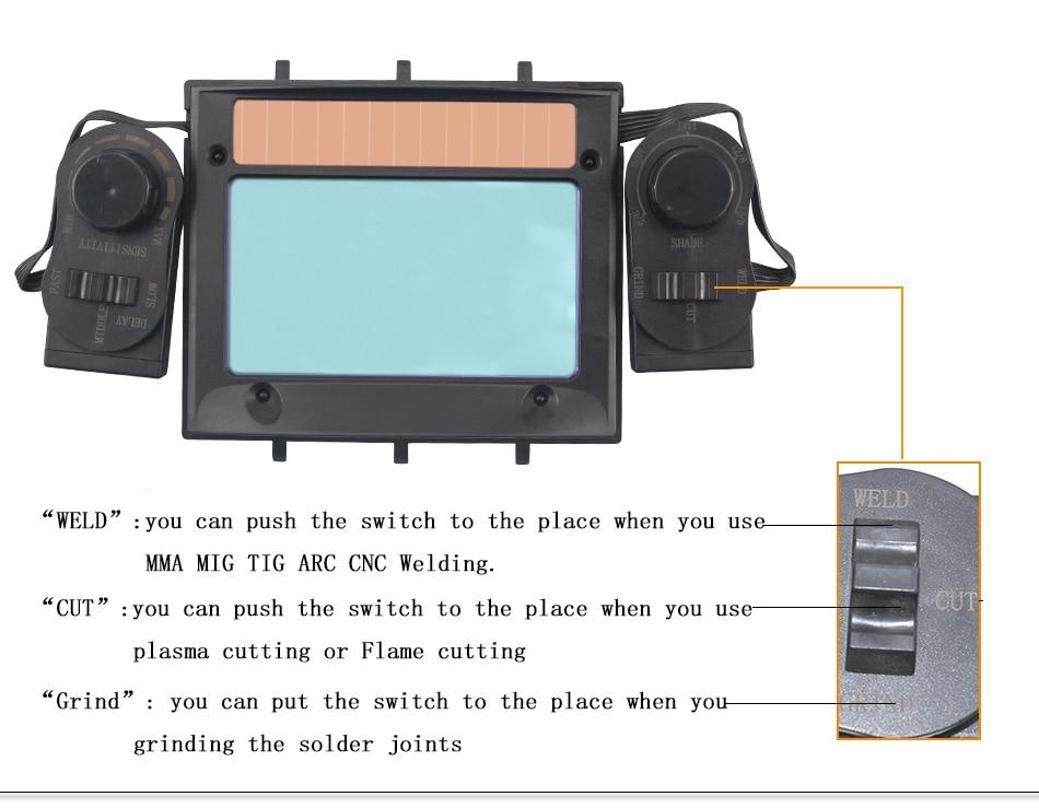 Out Adjust Big view 4 Arc Sensor Grind DIN5 DIN13 Solar Auto ...