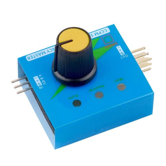 Multi Servo Tester 3CH ECS Consistency Speed Controler Power Channels CCPM Meter Lipo RC Battery