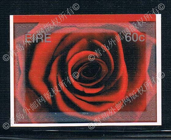 K1132 Ireland 2014 Valentine's Day rose sticker stamp 1 new 0419 ca0633 canada 2014 mammal stamp all sheets 1ms new 0626