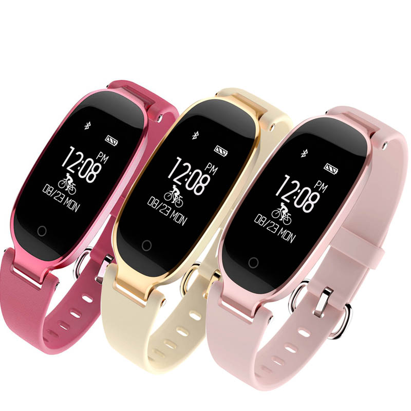 Pulsometer Fitness Armband Smart Uhr Herz Rate Monitor Fitness Uhr Weibliche Smart Armband Pedometro Smart Band Für xiomi
