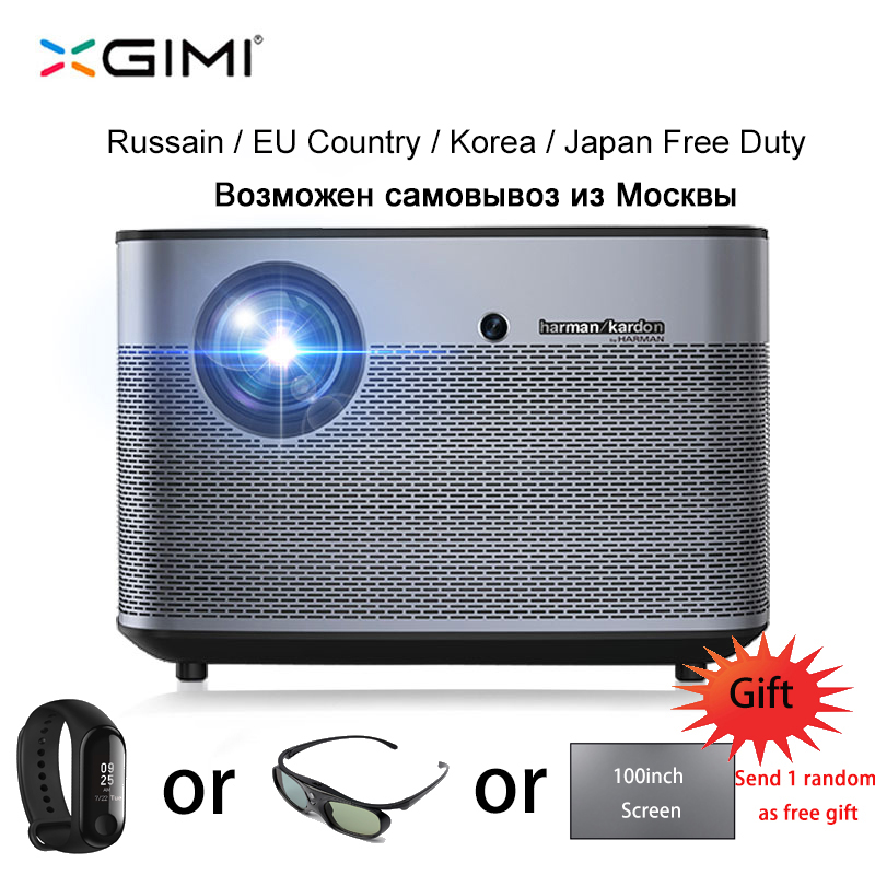 XGIMI H2 1080P Full HD DLP Projector 1350 ANSI Lumens Support 4K Android Wifi Bluetooth 3D