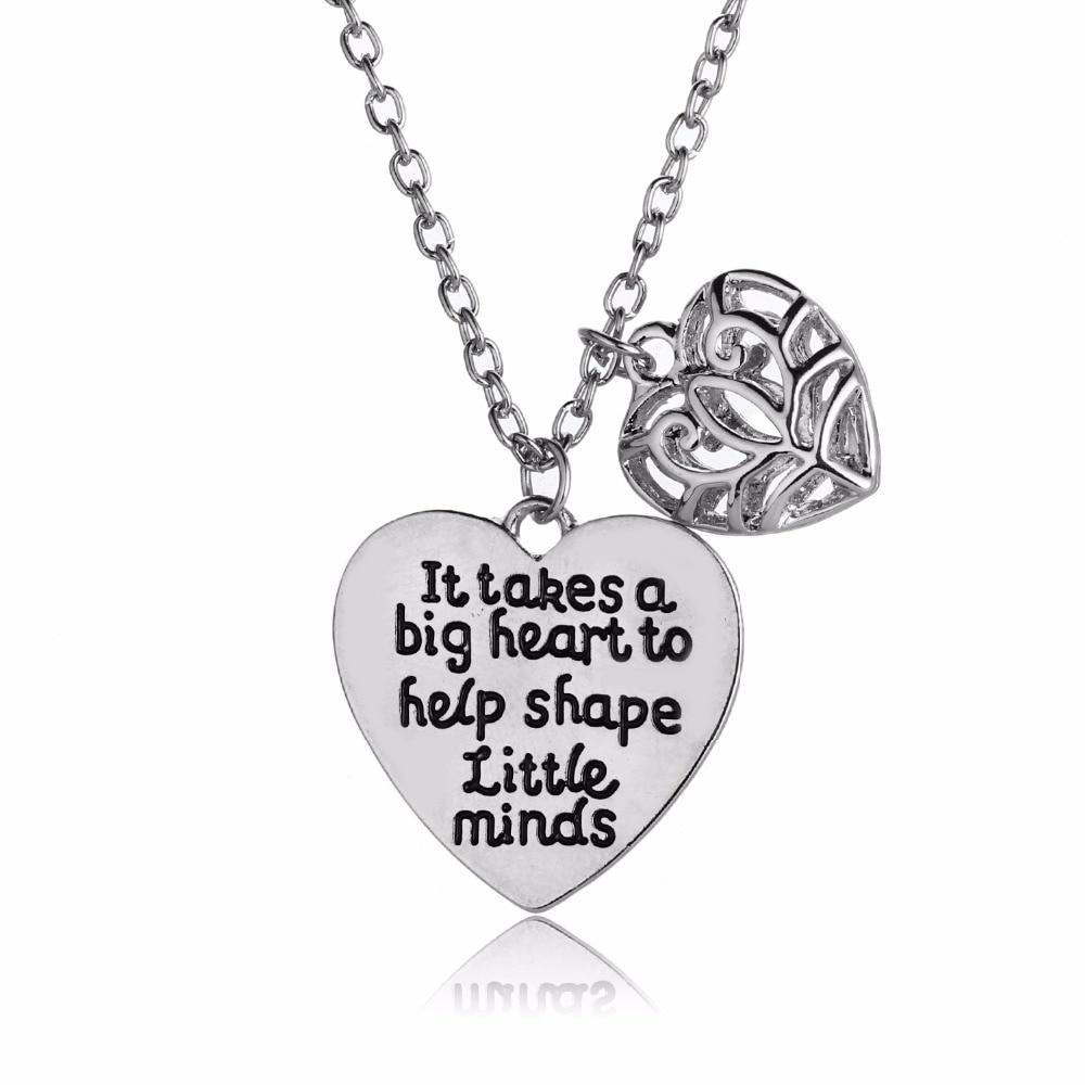 It Takes A Big Heart To Help Shape Little Minds Love Heart Teachers
