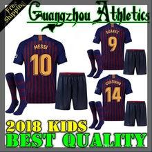 de2370564 2018 boy child kids kit Barcelona shirts 2019 Barcelonaes kids kit football  shirt soccer jersey COUTINHO A. INIESTA SUAREZ MESSI