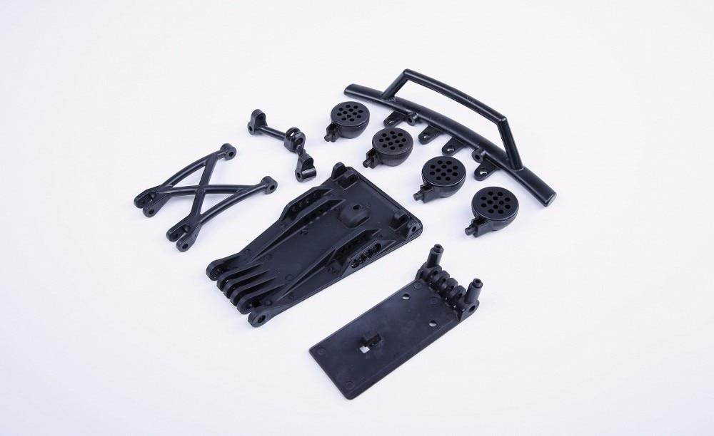 Plastic front Bumper kits for 15 hpi rovan km baja 5t rc car parts