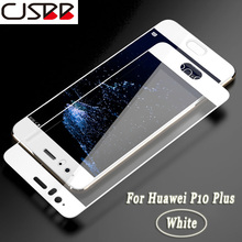 ФОТО cjsbb 3d 9h tempered glass for huawei p10 p9 lite plus screen protector film for huawei honor 8 9 lite 8 9 plus protective glass