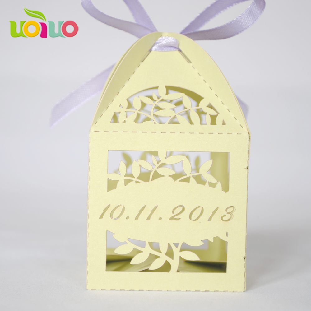 50pcs customize wedding candy sweet box party event favor wedding ...
