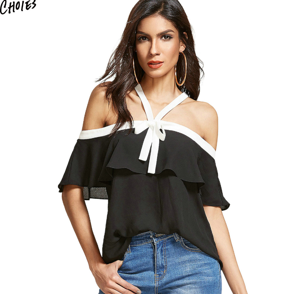 Popular White Ruffle Front Blouse-Buy Cheap White Ruffle Front ...
