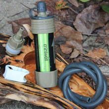 Lightweight  Multi- Usage 2000 Liters Filtration Capacity Outdoor Camping Hiking Traveling Portable Hollow Fiber Water Filter