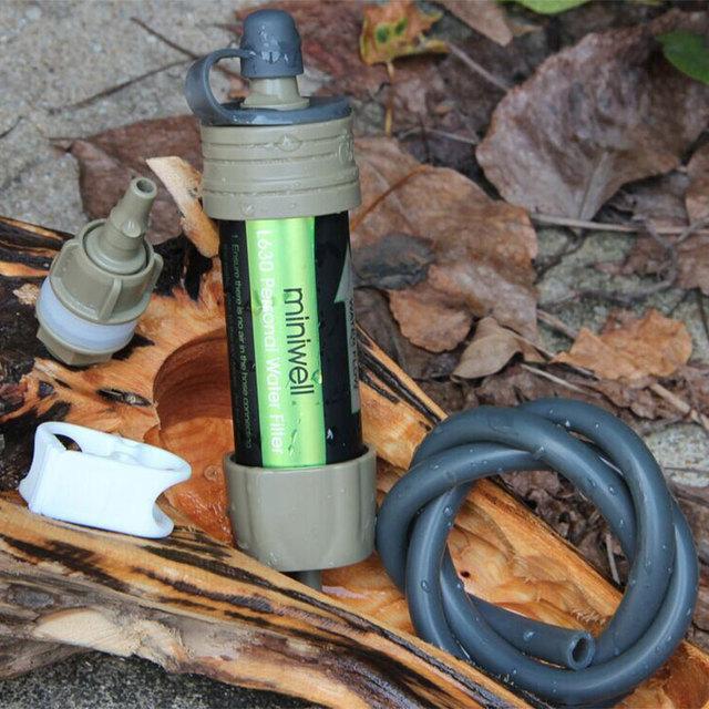 Lightweight Outdoor Portable Fiber Water Filter