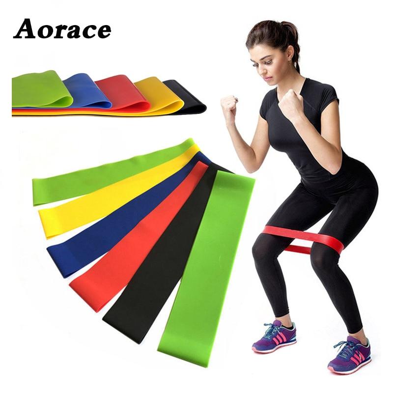1 Pc Yoga Weerstand Elastiekjes Indoor Outdoor Fitness Apparatuur 0.35mm-1.1mm Pilates Sport Training Workout Elastische Bands