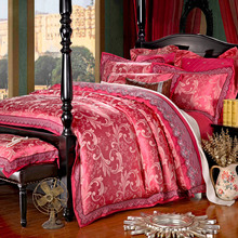 100% Satin Silk bedding set bedclothes housse de couette bedspread Romantic/duvet/quilt owl duvet cover bed sheet pillowcase