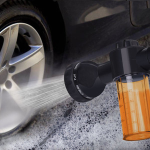 Foam Car washer Sprayer Garden Hose Nozzle Sprayer With 8 modes For Car Pet Plants 2020 High Quality pressure washer(China)