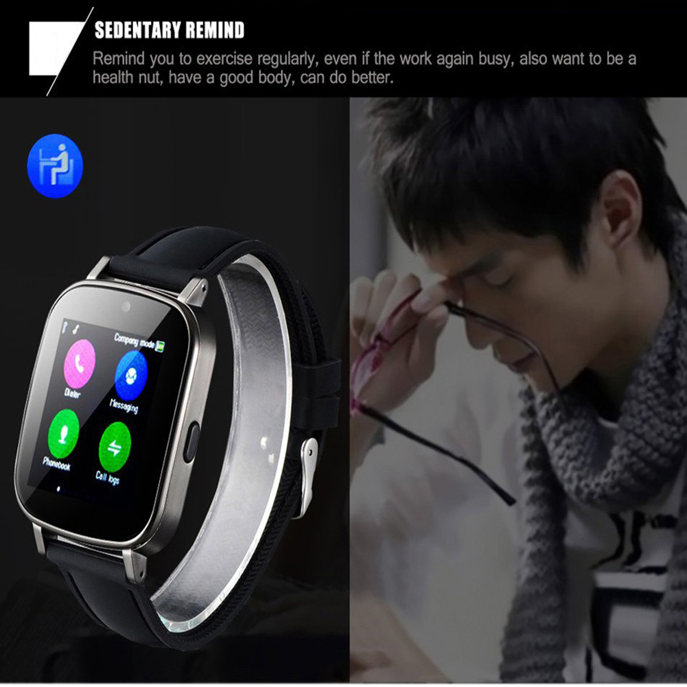 YCDC For iPhone 6s Samsung Android Huawei Smart Watch SIM Card Wear Clock Sync Notifier Bluetooth