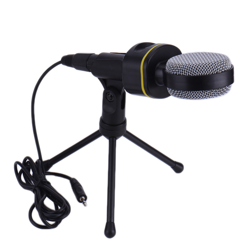 condenser wired microphone capacitive 3 5mm audio plug mic sound studio for recording sing network conference chating mic sound [ 1000 x 1000 Pixel ]