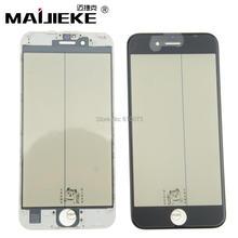 Ori MAIJIEKE kaltpressung 4 in 1 lcd screen outer glas Für iPhone 8 6 6 s 7 plus vor glas mit Rahmen mit oca polarisator