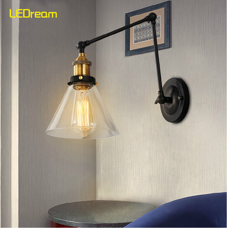 Loft style industrial m Roland wall lamp cafe bar clothing store aisle porch corridor wall lamp roland m cube gxw
