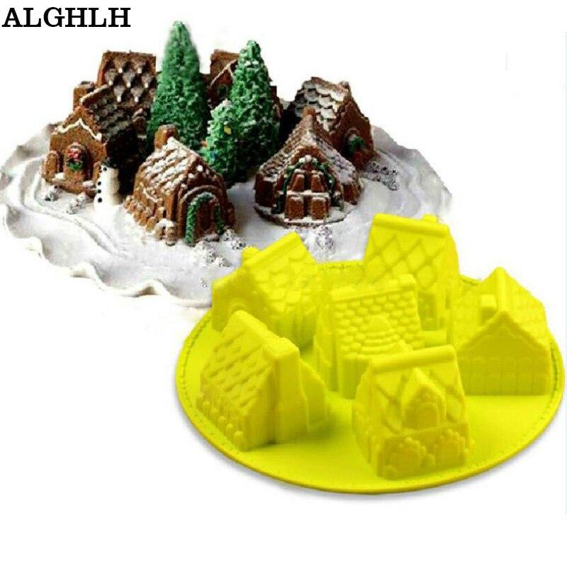 Mini Haus Bundt Kuchen Seife Weihnachtsgeschenk Form Schokolade ...