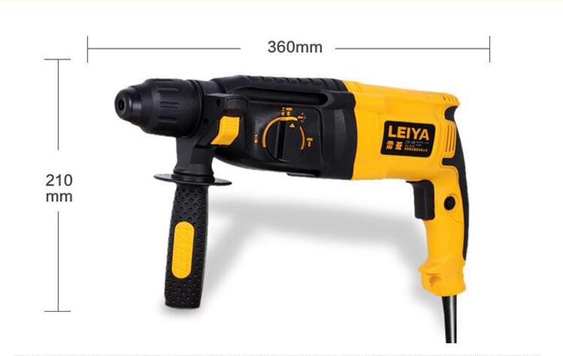 1080W Electric multi function percussion drilling hammer dril Electric picks 1100rpm 220V - 2