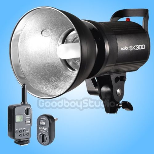 Godox SK300 300W Studio Flash Strobe Lamp Light Head with FT-16 Flash Trigger viltrox fc 16 off camera flash trigger w light control trigger black