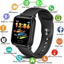 цена LIGE Sport Smart Bracelet Men Women IP67 Waterproof Fitness Tracker Watch Pedometer Heart Rate Monitor Smartwatch Android ios онлайн в 2017 году