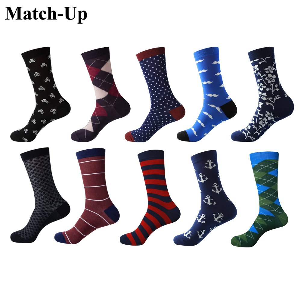 Match-Up Men's Colorful Combed Cotton Socks  Men  Socks