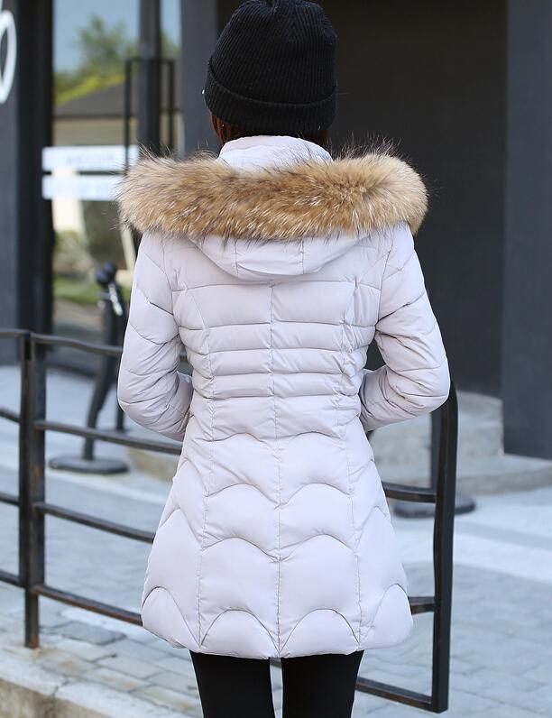 Chaud Parkas Fourrure En Dames Et pu Manteaux Fausse rose argent Anorak Manteau lavande Col Femmes Ciel À Épais Veste Vestes Noir Capuchon 2019 D'hiver Femme wXzPqc0