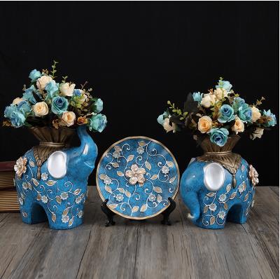 Elefante di ceramica vasi e piatti, home office tavolo decorazioni, creativo artigianato di ceramica, bei regaliElefante di ceramica vasi e piatti, home office tavolo decorazioni, creativo artigianato di ceramica, bei regali
