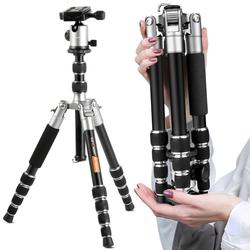 K&F CONCEPT TM2235 Professional Lightweight Alloy Video/Photo 5-Section Tripod With Ball Head For Canon Nikon Sony DSLR Camera