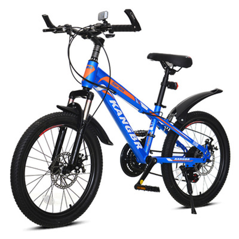 24-Inch Youth Speed Change Disc Shock Absorber Mountain Bike Primary And Secondary School Students Adult Mountain Bike