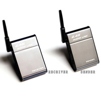 DESXZ 2.4GHz Wireless Adapter Transmitter Receiver Audio Music Box for Speaker Media iPhone IPad Cell Phone DVD MP3 Universal