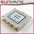 Качество Продукции! SUNHANS 4 Way Делитель Мощности Splitter 380-2500 МГц для Сотового Телефона Усилитель Сигнала freeshipping