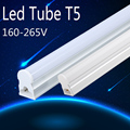 PVC Plastic LED Tube T5 Light 220V 240V 30cm 5W 60cm 1ft 2ft 10W LED Fluorescent Tube T5 Wall Lamps Cold White T5 Bulb Light 8W