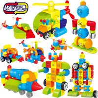 Changeable Pipeline Magnetic Blocks Magnetic Designer Building Construction Toys Set Magnet Assembly Toys For Children Gift