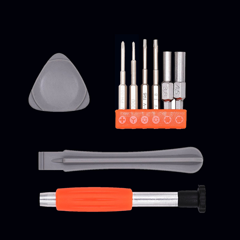 Safety Bit Set Repair Tool Screwdriver Kit Steel Tool Switch For Gaming Console Controller Maintenance support image