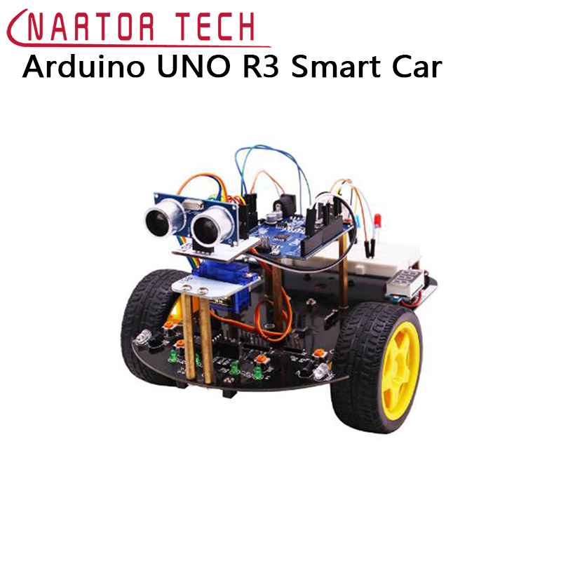 Smart Robot Car Kit Starter Kit 2in1 Bluetooth For Arduino UNO R3 Line Tracking Graphic Programming Educational ...