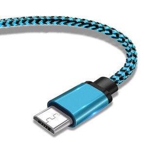 Image 5 - Cable Micro USB de 2,4 a para móvil, Cable de carga de sincronización de datos rápida para Samsung, Huawei, Xiaomi, LG, HTC, Nokia, Android