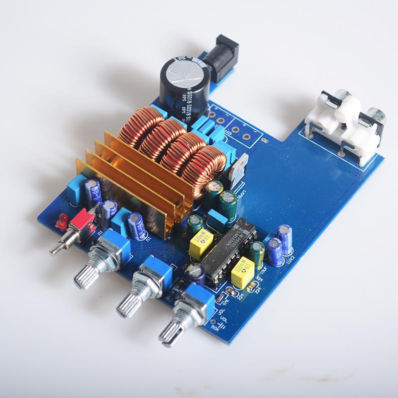 K.GUSS Class D HIFI AUDIO TPA3116 LM1036 Tone Digital Amplifier Board amplificador Treble Bass Adjustment Audio Amp 2 * 50W