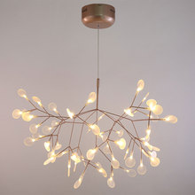 Nordic nowoczesny Wisiorek Światła Led Akrylowe Gałęzie Projektant Jadalnia Kuchnia Światła Lampy Wiszące Oświetlenie Przemysłowe