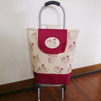Portable Shopping Cart Small Pull Cart Convenient And Labor saving Old Lady Shopping Cart