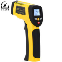 HT 819 High Precision Digital Double Laser LCD Non Contact Laser IR Infrared Thermometer Temperature Tester Pyrometer